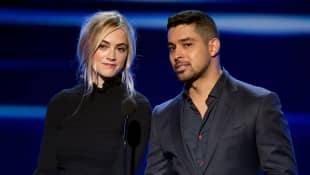 Emily Wickersham and Wilmer Valderrama