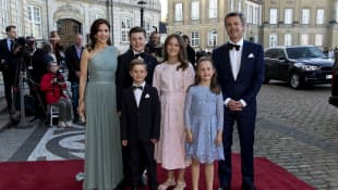 New Family Picture Of The Danish Royals: Kids Are All Grown Up