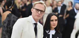 Paul Bettany and Jennifer Connelly attend the Heavenly Bodies: Fashion & The Catholic Imagination Costume Institute Gala at The Metropolitan Museum of Art on May 7, 2018 in New York City