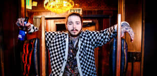 """Post Malone Opens Up About His Face Tattoos : """"They Come From a Place of Insecurity"""""""