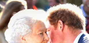 The Queen and Prince Harry