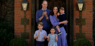 New photo of cute Prince Louis released to thank royal fans