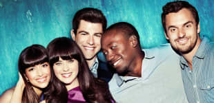 The cast of the hit show New Girl