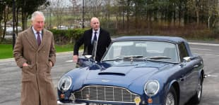 Prince Charles Shows Off The Car Queen Elizabeth Gave Him On His 21st Birthday!