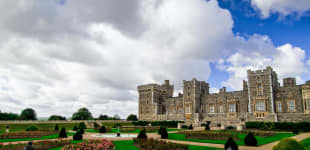 The Queen opens up Windsor Castle Gardens to the public