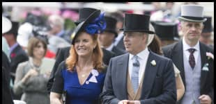 Today is a special but bittersweet day for Prince Andrew and Sarah Ferguson