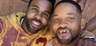 """Will Smith Left Toothless After """"Accident"""" With Jason Derulo!"""