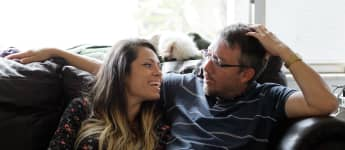 """Jason Hitch and Cassia Tavares from TLC's """"90 Day Fiancé"""""""