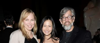 Cynthia Lamontagne, Nicole Seidel and Roy Braeger attend the after party celebration of Paul Newman's Hole in the Wall Camps on October 21, 2010 in New York City