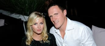 Elisha Cuthbert and Dion Phaneuf at the 36th Toronto International Film Festival at Thompson Hotel on September 10, 2011 in Toronto, Canada