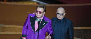 "Elton John Says His Kids Are ""So Happy"" About His Oscars Win"