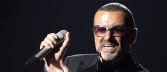 George Michael performs on stage during a charity gala for the benefit of Sidaction, at the Opera Garnier in Paris, on September 9, 2012.