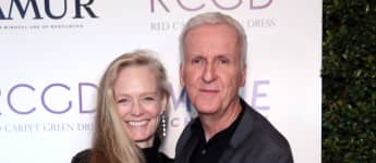 Suzy Amis Cameron and James Cameron attend Suzy Amis Cameron's 10-Year Anniversary Of RCGD Celebration