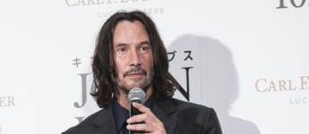 """Keanu Reeves attends the premiere of """"John Wick: Chapter 3 - Parabellum"""" on September 10, 2019 in Tokyo, Japan."""