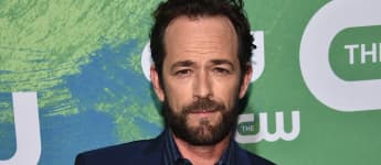 Luke Perry attends the CW Network's 2016 New York Upfront Presentation in New York City