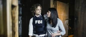 """Reid"" and ""Emily"" in season 13 of Criminal Minds, Matthew Gray Gubler, Paget Brewster"