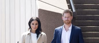 Duchess Meghan Markle & Prince Harry Spotted In Masks - And Cadillac SUV - During Rare Outing In Beverly Hills Los Angeles LA Home
