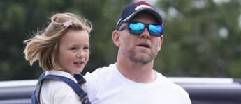Mike Tindall and Daughter Mia, 6, Share Father-Daughter Moment