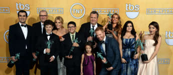 'Modern Family': The TV Show's Stars Sofia Vergara Celebrate Last Day Of Filming