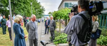 'Prince Charles & Camilla Return To Public Duties With First Post-Lockdown Appearance