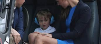 Prince George, Duchess Catherine and Prince William