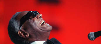 Ray Charles blind