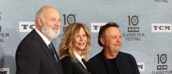 Rob Reiner, Meg Ryan and Billy Crystal