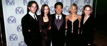 Glenn Howerton, Chyler Reigh, Brittany Daniel, Eddie Shin and Tinsley Grimes from 'That 80's Show'