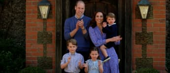 Prince William, Duchess Kate, Prince George, Princess Charlotte and Prince Louis