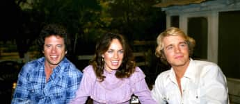 """The Dukes of Hazzard's"" Tom Wopat, Catherine Bach and John Schneider"