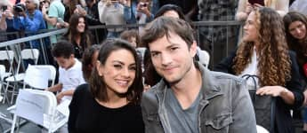 Ashton Kutcher And Mila Kunis' Kids Make Sweet Sign For Coronavirus Workers
