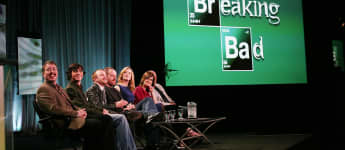 The cast of Breaking Bad