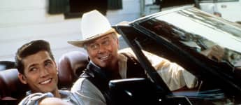 """Sasha Mitchell and Larry Hagman starred in the series, """"Dallas"""""""