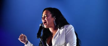 Demi Lovato burst into tears at her 2020 Grammys performance.