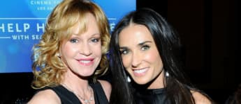 Demi Moore shared a great picture with her former Now and Then co-star Melanie Griffith on Instagram.