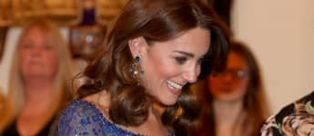 Duchess Catherine at the reception for the children's charity Place2Be at Buckingham Palace.