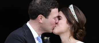 Princess Eugenie shares new wedding picture for husband Jack Brooksbank's birthday!