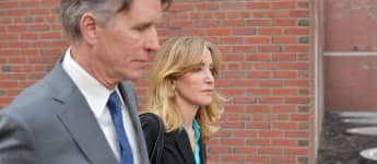 Felicity Huffman, the former star of Desperate Housewives, appeared in court in Boston, Massachusetts on April 8th.