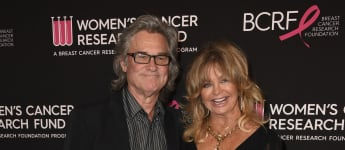 """'Goldie Hawn Says She Recently Watched 'Overboard' With Kurt Russell In Bed: """"It Was So Fabulous"""""""