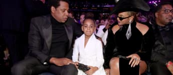 Jay-Z, Beyoncé and their daughter Blue Ivy Carter