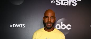 Karamo Brown arrives at the 2019 Dancing With The Stars Cast Reveal at Planet Hollywood Times Square on August 21, 2019 in New York City
