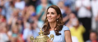 Duchess Catherine at the 2019 Wimbledon Championships
