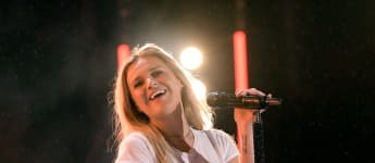 Kelsea Ballerini performs on stage during day 1 of 2019 CMA Music Festival on June 06, 2019