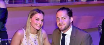 Margot Robbie and Tom Ackerley at the 2017 TIME 100 Gala Dinner
