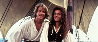 Matthew Modine and Geena Davis
