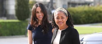 Duchess Meghan and Doria Ragland