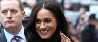 Meghan Markle steps out for first time since announcement to women's centre in Vancouver