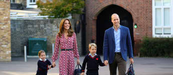 Prince William, Duchess Kate, Prince George and Princess Charlotte
