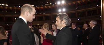Prince William and Joaquin Phoenix