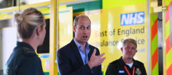 Prince William Steps Out For First Royal Public Outing Amid Coronavirus To Thank First Responders